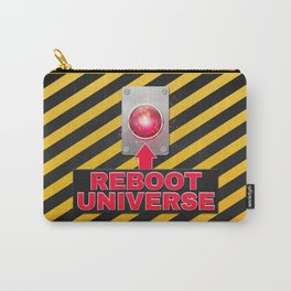 Reboot Universe Button Carry-All Pouch