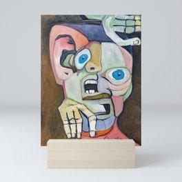 Solitary Man Mini Art Print