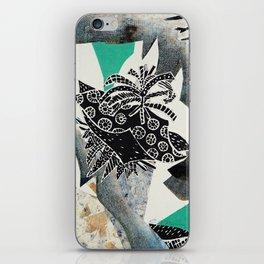 Blue Botanical iPhone Skin
