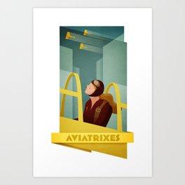 Aviatrixes Art Print
