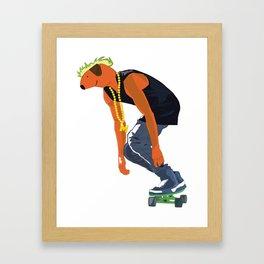 Ramon Urban Version Framed Art Print