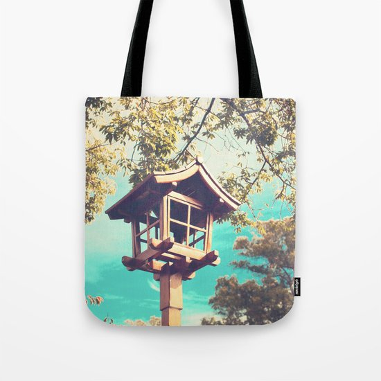 Japanese Lamp  (Retro Vintage Photography) Tote Bag