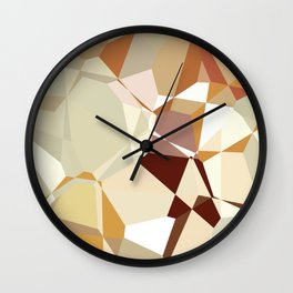 Simple Polygons Wall Clock