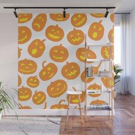 Jack-O-Lanterns Wall Mural