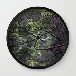 Freshwater Creek Wall Clock