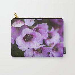 Spring purple flowers Carry-All Pouch