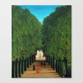 Henri Rousseau - Avenue in the Park at Saint Cloud Canvas Print