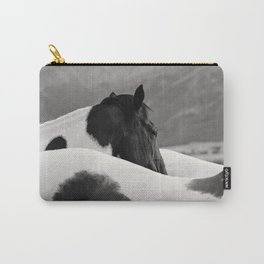 Pinto Horse Photograph Carry-All Pouch