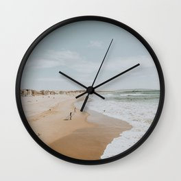 summer beach Wall Clock