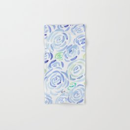 1  |  190411 Flower Abstract Watercolour Painting Hand & Bath Towel