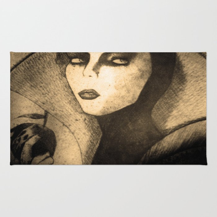evil queen -snow white Rug