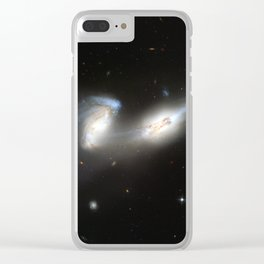 Galaxy merger Clear iPhone Case