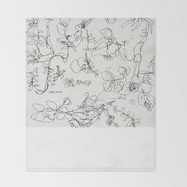 Botanical Bold Throw Blanket