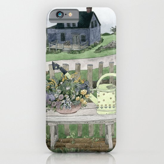 Cottage at the Sea iPhone & iPod Case