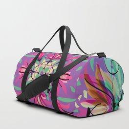 Abstract garden 2d Duffle Bag
