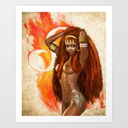 V-LEO Art Print