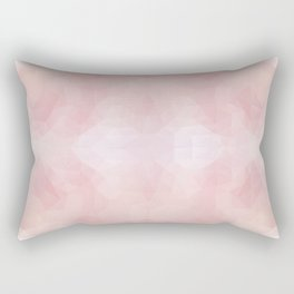 """Love me tender"" triangles design Rectangular Pillow"