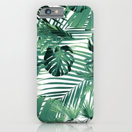 Tropical Jungle Leaves Siesta #5 #tropical #decor #art #society6 iPhone Case