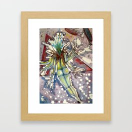 Wayfaring Cosmic Interloper Framed Art Print