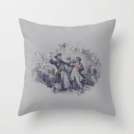 Epic Battle Throw Pillow