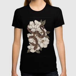 Snake and Magnolias T-shirt