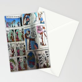 Comic Style Stationery Cards