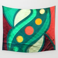 planets Wall Tapestries featuring Planets by VessDSign