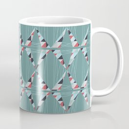 Modern Triangles  Coffee Mug