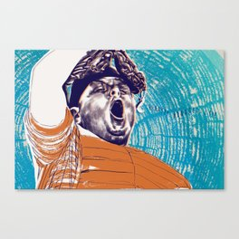 Ham Canvas Print