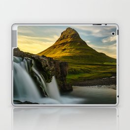 Kirkjufell Mountain at Sunset in Iceland Laptop & iPad Skin