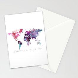 Explore.Dream.Discover Stationery Cards