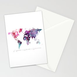 Explore.Dream.Discover Stationery Cards