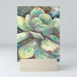 Salted Succulent Mini Art Print