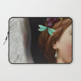 Angel With A Pearl Earring Laptop Sleeve