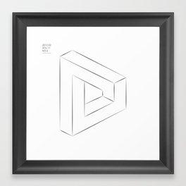 starkes dreiwege Framed Art Print