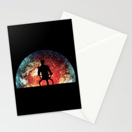 Illusive man ( Mass Effect ) Stationery Cards