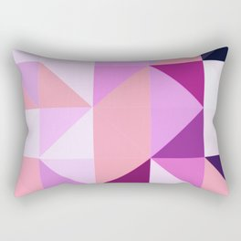 Apex geometric III Rectangular Pillow
