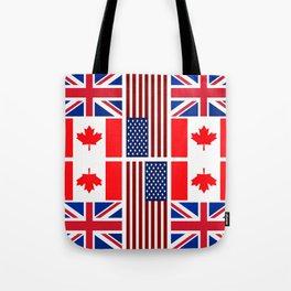 ABC Three Flags Tote Bag