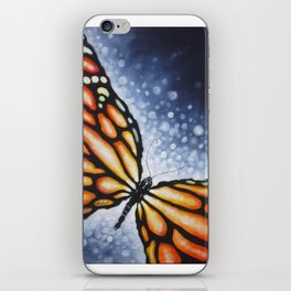 Butterfly Kiss iPhone Skin