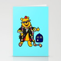 pooh Stationery Cards featuring Doctor Pooh by Murphis the Scurpix