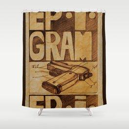 Epigram Shower Curtain