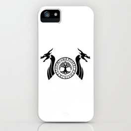 Norse Dragon - Yggdrasil iPhone Case