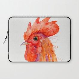 Rooster Portrait Laptop Sleeve