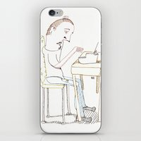 write iPhone & iPod Skins featuring Write, Right? by Joseph Nathan