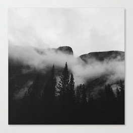 Castle Mountain Canvas Print