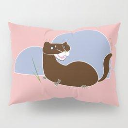 Save The European Mink! (FIEB) Pillow Sham