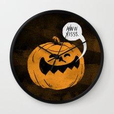 Pumpkin Season Wall Clock