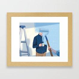 Un-Renovatable Relationship Framed Art Print