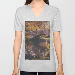 New York City Autumn Unisex V-Neck