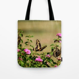 Three's Company Tote Bag
